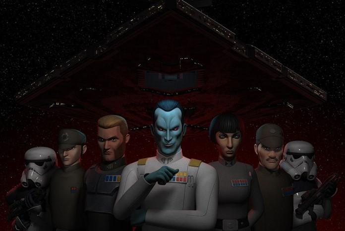 Grand Admiral Thrawn In New Star Wars: Rebels Clip - Jedi News