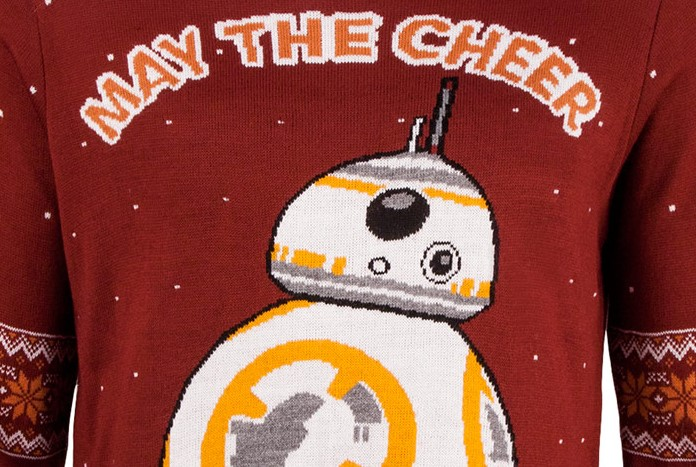 STAR WARS Official BB-8 Christmas Jumper//Ugly Sweater