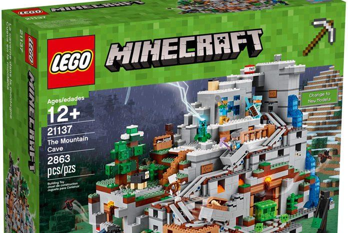 LEGO Minecraft 'The Mountain Cave' (#21137) - Jedi News ...