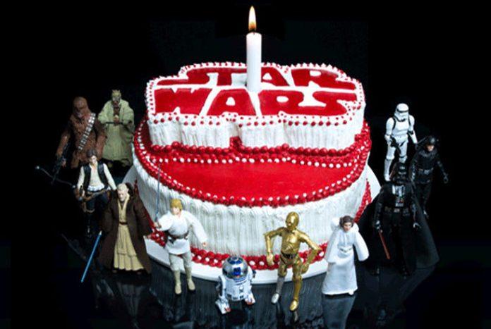 Star Wars 40th Anniversary Birthday Cake Poster Jedi News