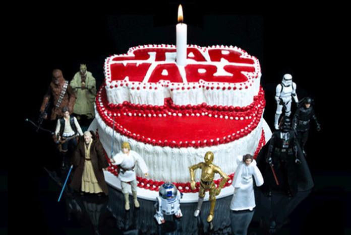 Happy Birthday Jedi Cake