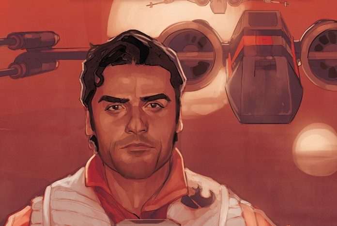 STAR WARS POE DAMERON #18 STAR WARS 40TH ANNIVERSARY VARIANT COVER BY TRADD MOOR