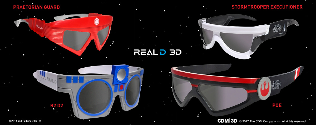 Collect \'The Last Jedi\' 3D Glasses From RealD - Jedi News ...