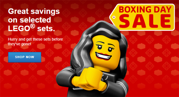 LEGO Boxing Day Sale Is Now On With Lots Of Savings