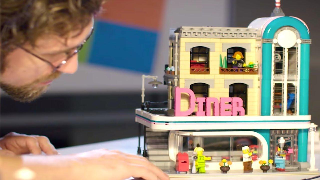 Lego Downtown Diner Designer Video Set 10260 Jedi News