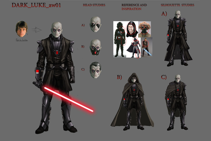 Concept Art From Cancelled Battlefront Game Revealed Jedi News