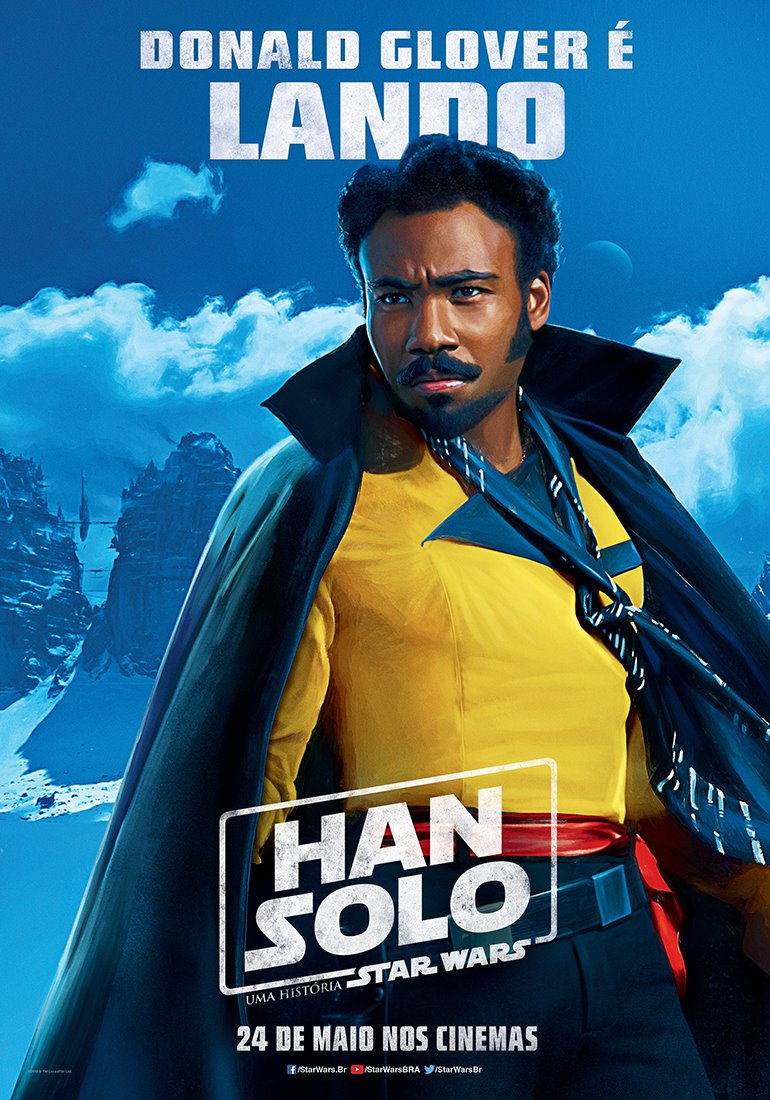 New 'Solo' Posters From Brazil Where The Film Has A Slightly