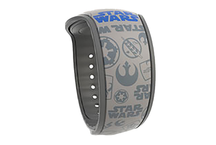 New Grey Star Wars Magicband Featuring Iconic Rebel Alliance