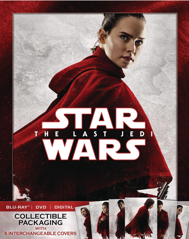 star wars 8 blu ray release