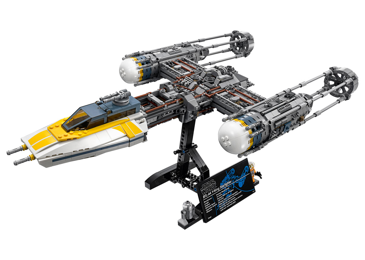 new lego ucs y wing 75181 press release jedi news broadcasting star wars news across the. Black Bedroom Furniture Sets. Home Design Ideas