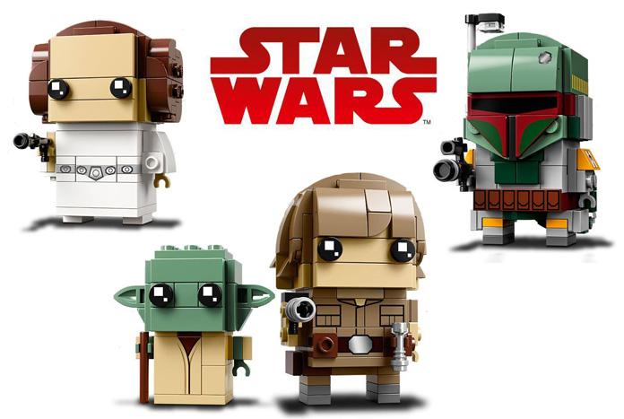 Lego Reveal Three More Star Wars Brickheadz Sets Jedi News