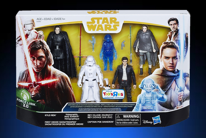 hasbro force link 2 0 39 the last jedi 39 figure 5 pack listed on toys 39 r 39 us canada website jedi. Black Bedroom Furniture Sets. Home Design Ideas