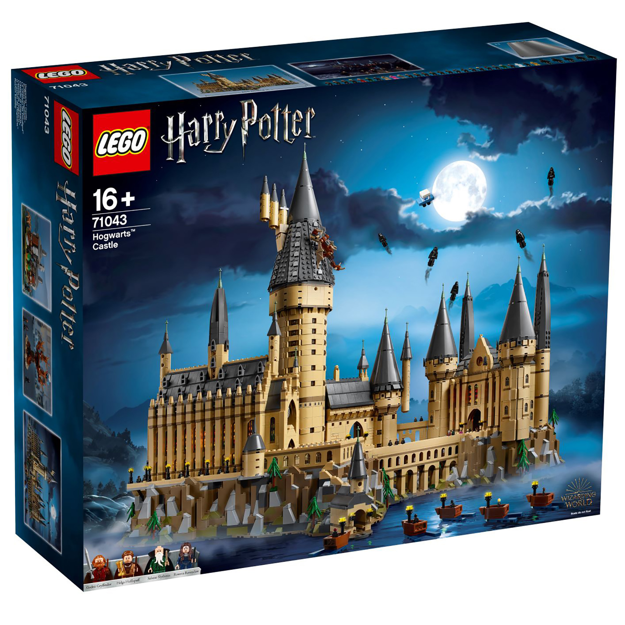 Micro House Lego Brings The Magic With Hogwarts Castle Set 71043
