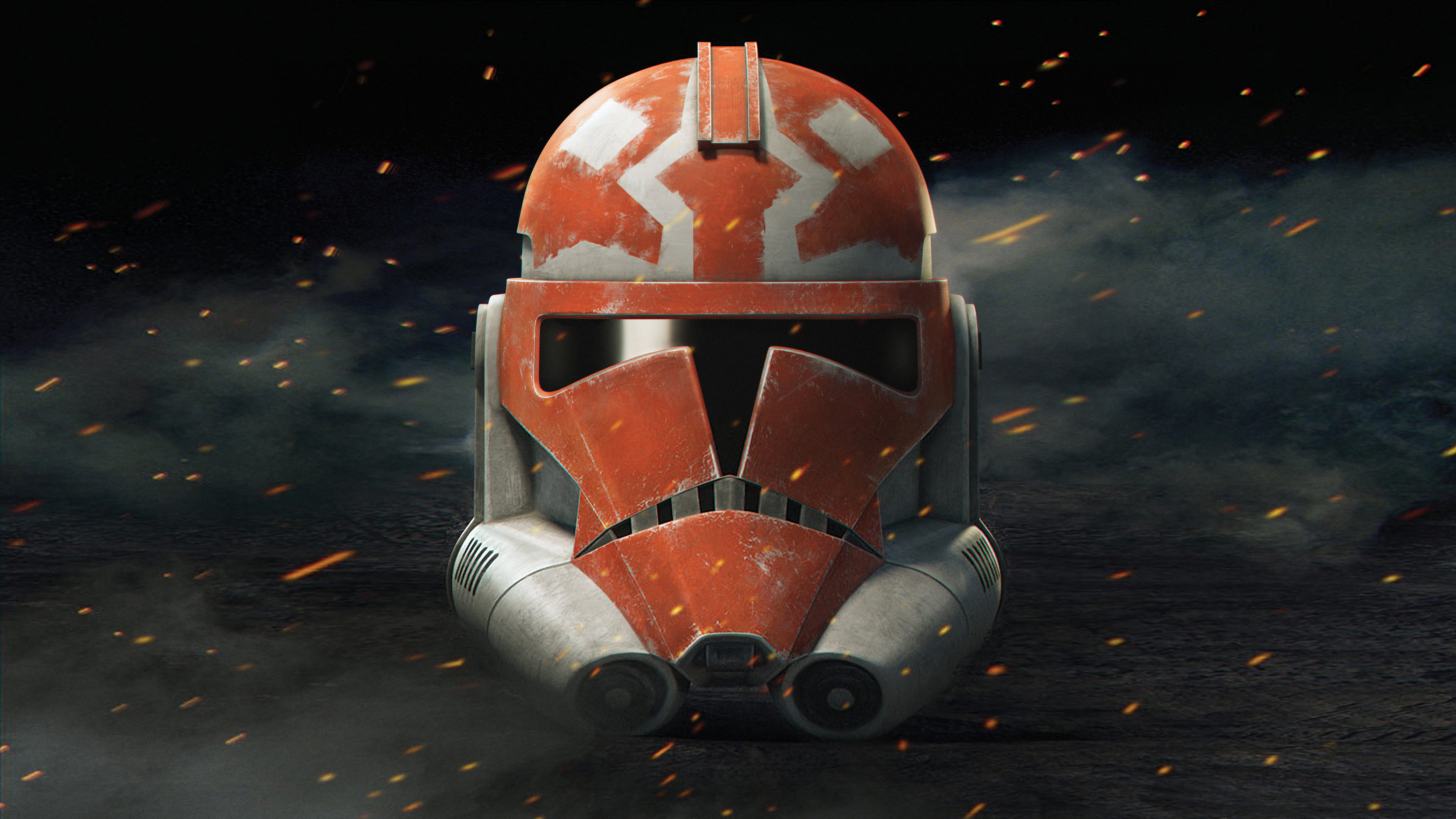 4k Resolution Image Of Helmet From Clonewarssaved Poster Jedi News