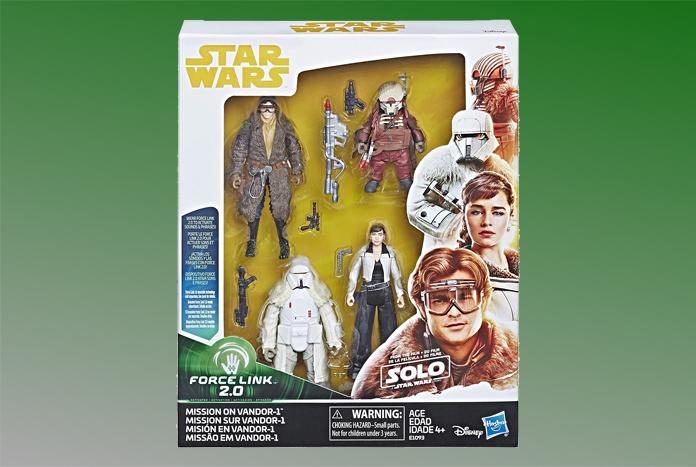 Star Wars Solo Force Link 2.0 Mission on Vandor-1 Action Figures