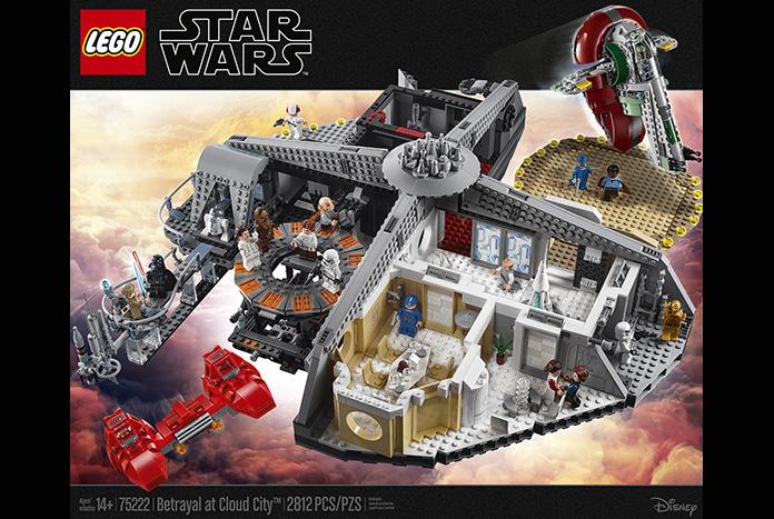 LEGO STAR WARS MINIFIGURE PRINCESS LEIA 75222 CLOUD CITY BESPIN