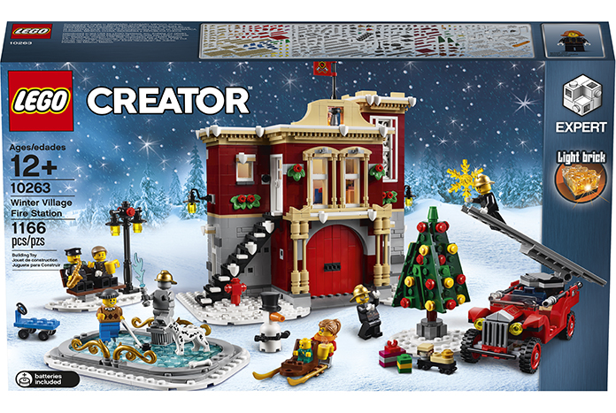 LEGO Creator Expert Winter Village Fire Station (Set #10263