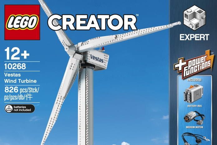 Out of the Vault: New LEGO Creator Expert Vestas Wind