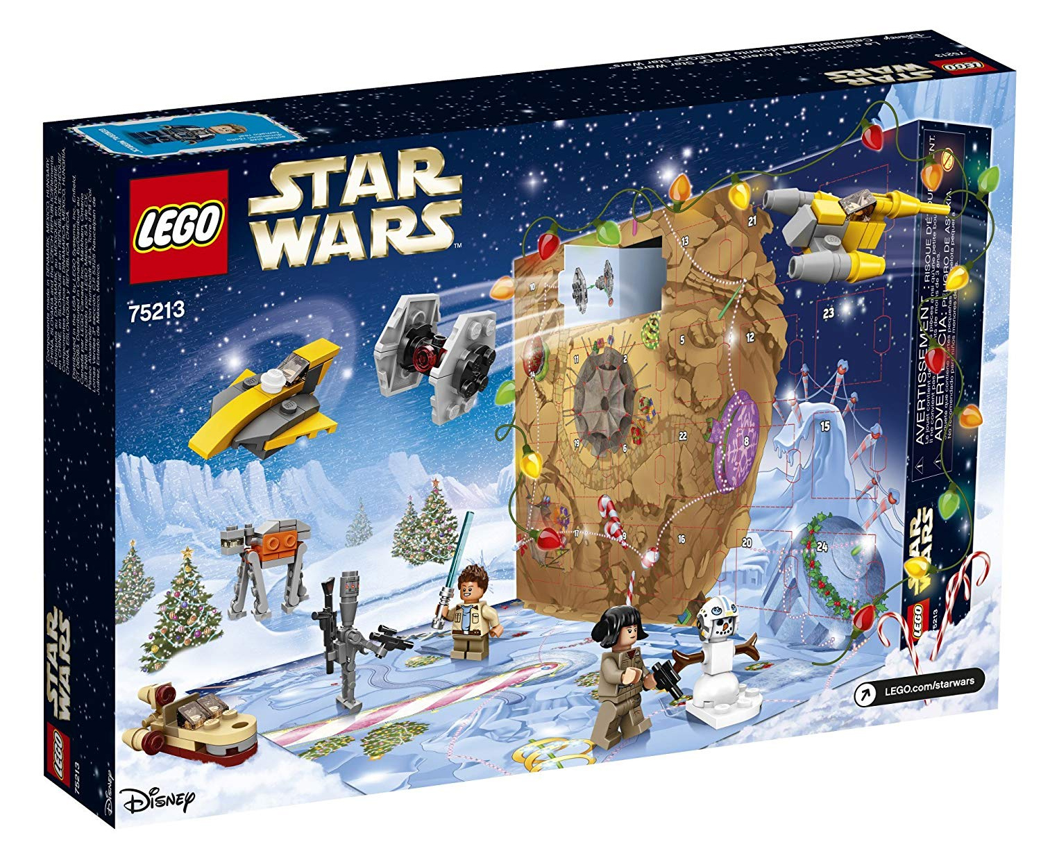 lego star wars 2018 advent calendar in stock at amazon. Black Bedroom Furniture Sets. Home Design Ideas