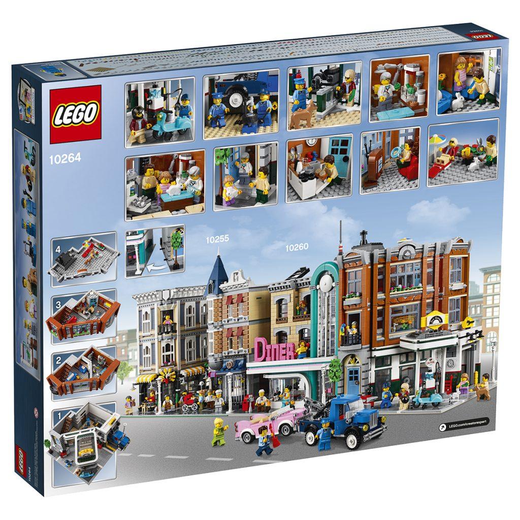 new lego modular creator expert corner garage 10264. Black Bedroom Furniture Sets. Home Design Ideas