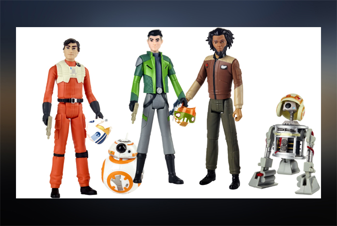Star Wars Resistance Action Figures Wave 1