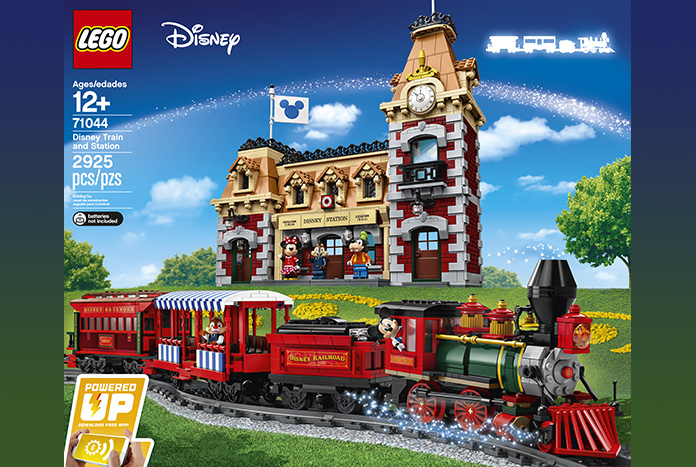 LEGO Disney Train and Station Revealed (Set #71044) - Jedi News