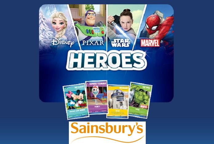 Sainsburys Disney Heroes Cards Number 36 Ariel