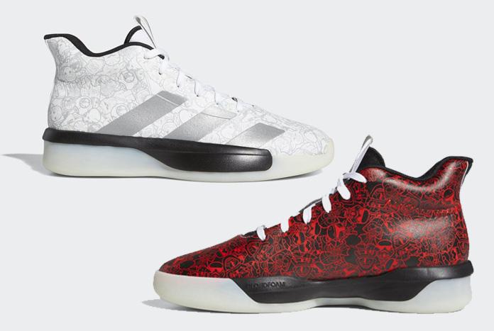 trompeta exposición Tomar un riesgo  Adidas Readies Collection of Star Wars Basketball Shoes - Jedi News
