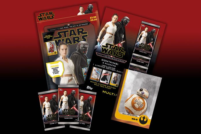 Topps Uk Offer Limited Edition Starter Bundle For Journey To The Rise Of Skywalker Set Jedi News