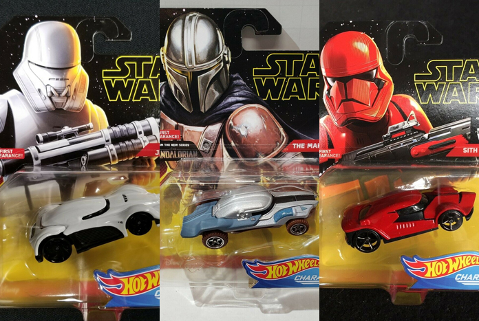 Carded Images Of Hot Wheels The Mandalorian Jet Trooper Sith Trooper Character Cars Jedi News