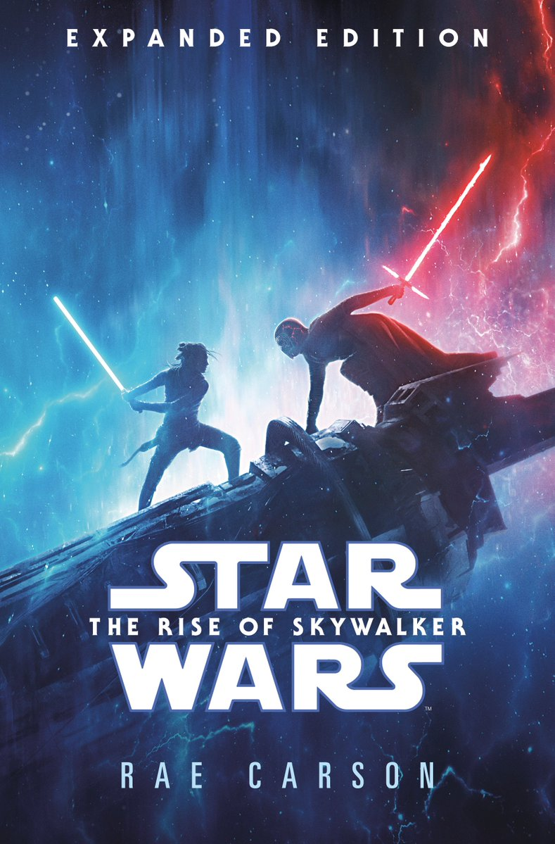Cover For The Rise Of Skywalker Novelization By Rae Carson