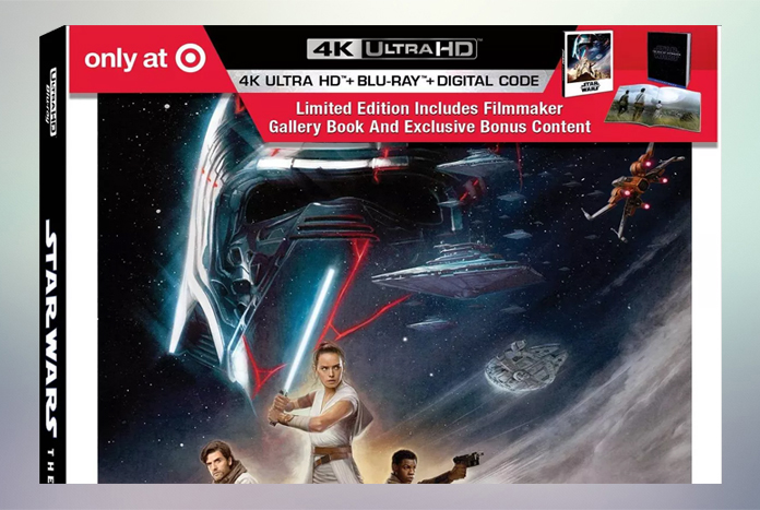 Pre Order Target Exclusive The Rise Of Skywalker Limited Edition 4k Blu Ray Jedi News