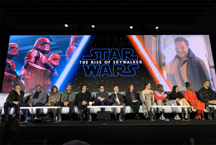 Full Video Of The Rise Of Skywalker Global Press Conference Jedi News