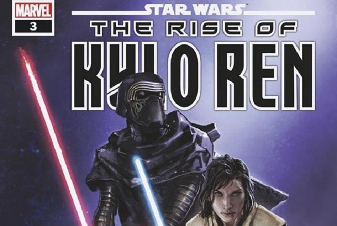 MARVEL COMICS STAR WARS RISE KYLO REN #3 MAIN COVER CLAYTON CRAIN OF 4