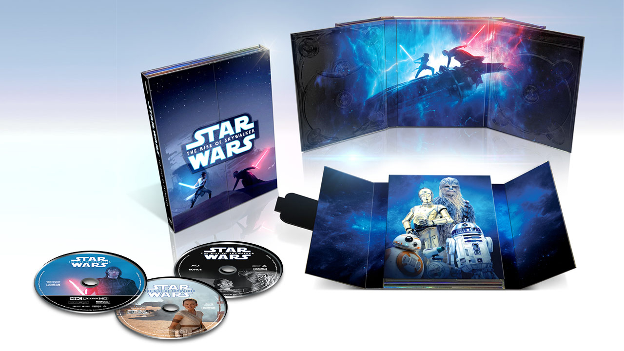 Another Look At Walmart Exclusive The Rise Of Skywalker 4k Blu Ray Release Jedi News