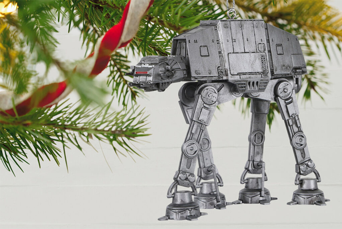 Star Wars Christmas Ornaments 2020 Hallmark Imperial AT AT Walker 2020 Keepsake Ornament Available