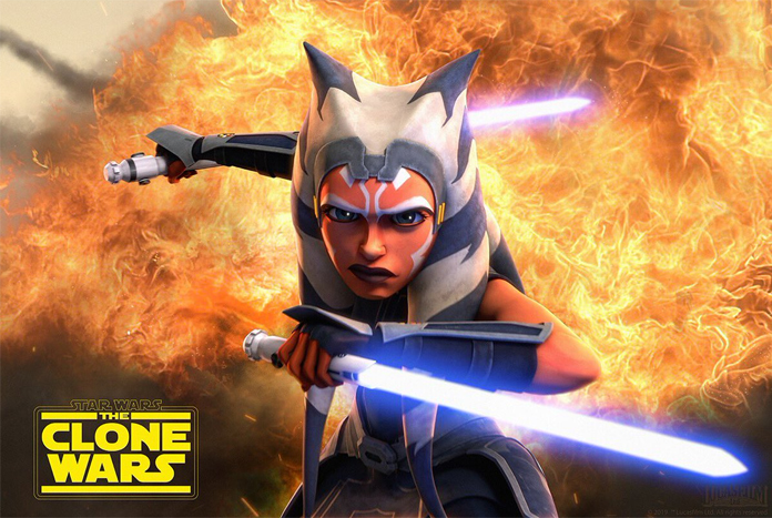 """Ahsoka Tano """"Fire"""" Poster From The Clone Wars Coming From Trends  International - Jedi News"""