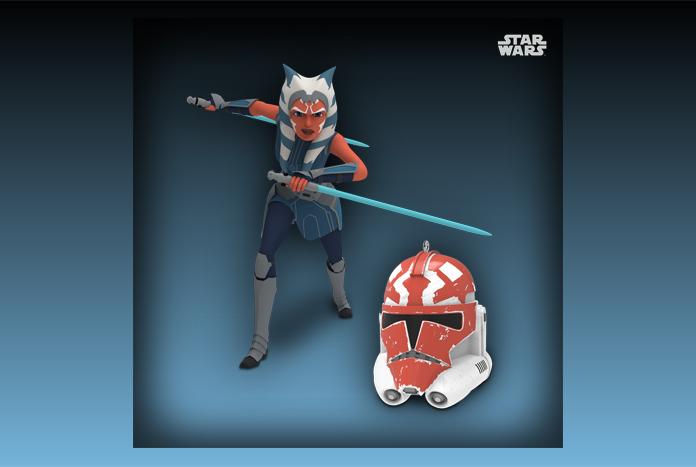 Star Wars The Clone Wars AHSOKA TANO Itty Bittys by Hallmark