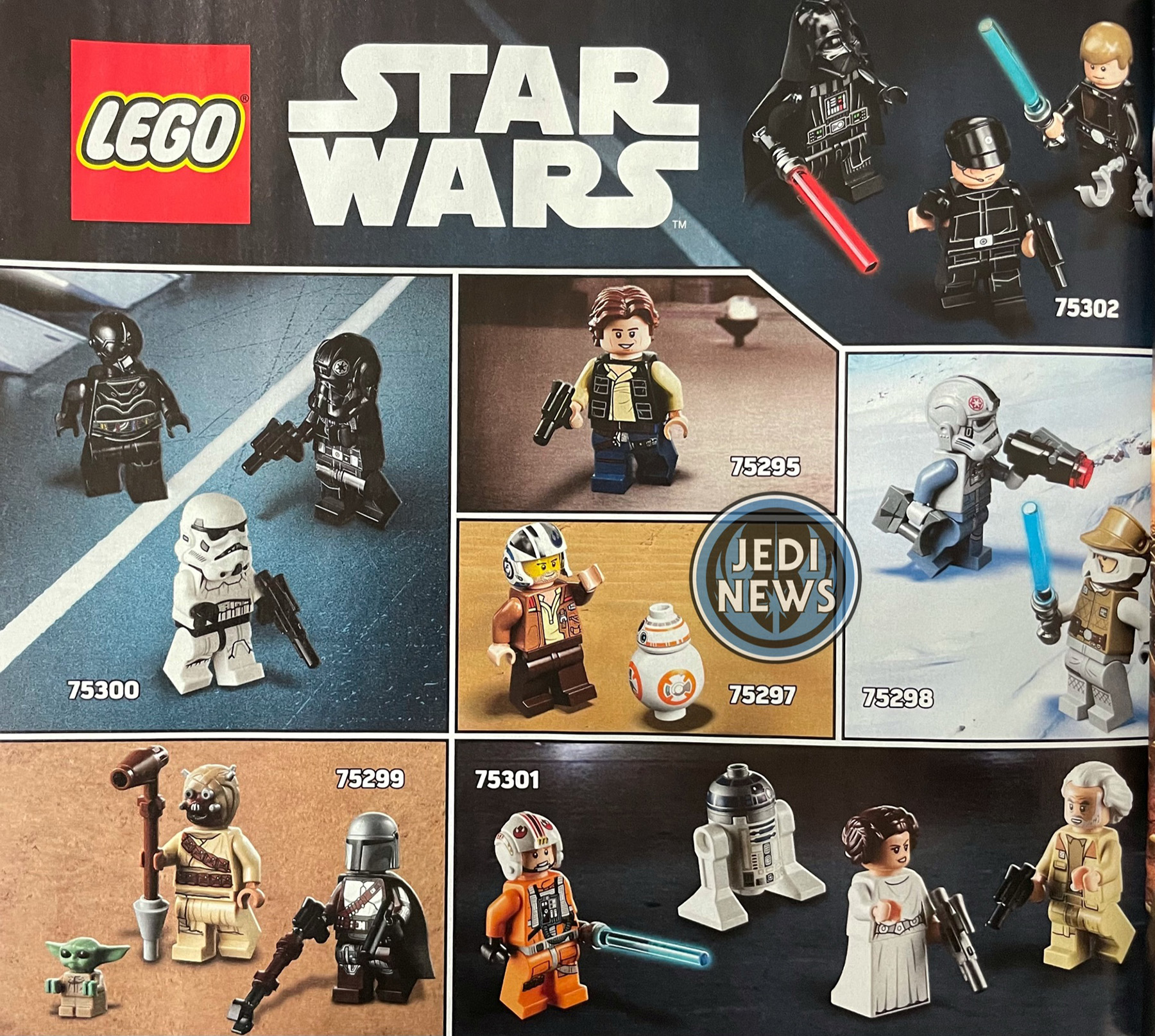 Two More 2021 LEGO Star Wars Sets Revealed, Landing in March